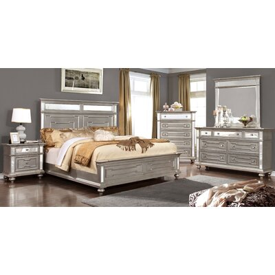 House of Hampton Aronson Panel Customizable Bedroom Set