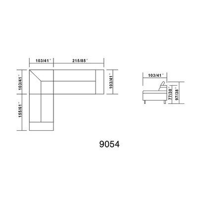 Hokku Designs Oshkosh Sectional