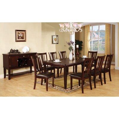 Hokku designs nappa extendable dining table for Hokku designs dining room furniture