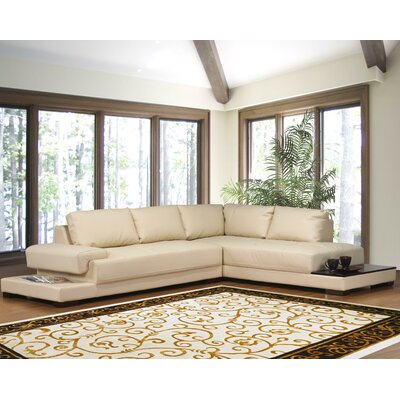 Hokku designs ruby sectional reviews wayfair for Hokku designs living room furniture