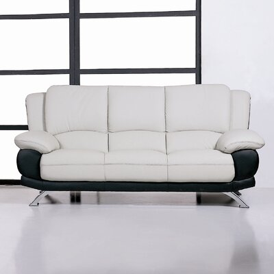 Hokku Designs Leather Sofa
