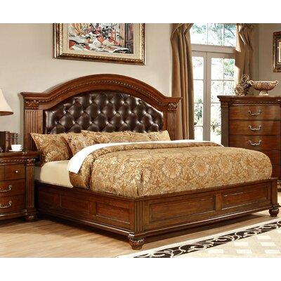 Hokku Designs Belton Upholstered Platform Bed