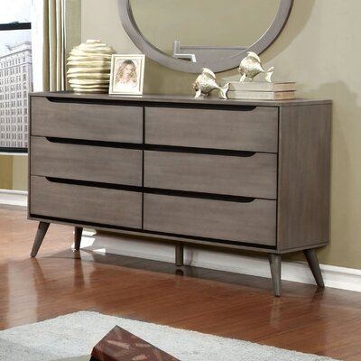 Hokku Designs Torres 6 Drawer Dresser