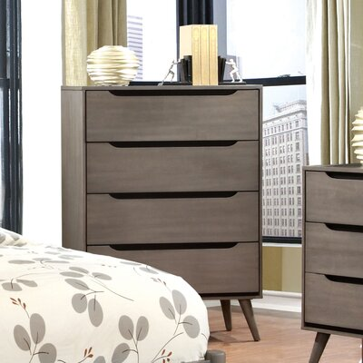 Hokku Designs Torres 4 Drawer Chest