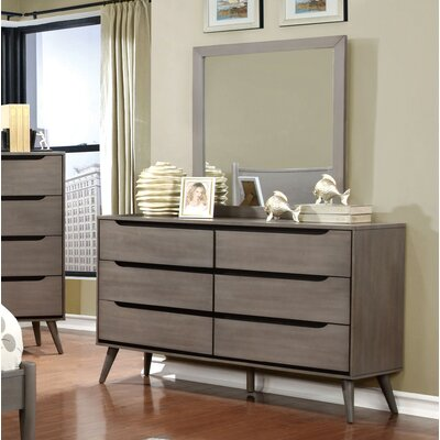 Hokku Designs Torres 6 Drawer Dresser wit..