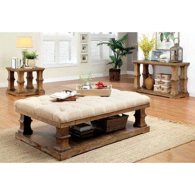 Bay Isle Home Clarendon 3 Piece Coffee Table Set