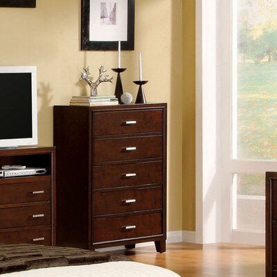 Andover Mills Suzanne 5 Drawer Chest