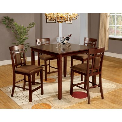 Andover Mills Flamingo 5 Piece Counter Height Dining Set