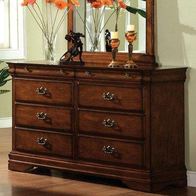 Rosalind Wheeler Griswold 6 Drawer Dresser