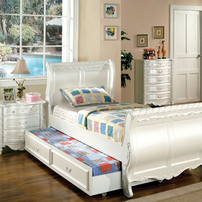 Hokku Designs Victoria Sleigh Customizable Bedroom Set