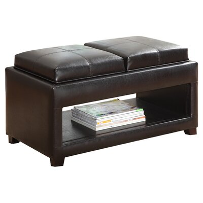 Hokku Designs Elyn Flip Top Storage Ottoman