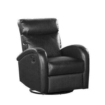 Shermag Push Button Leather Recliner