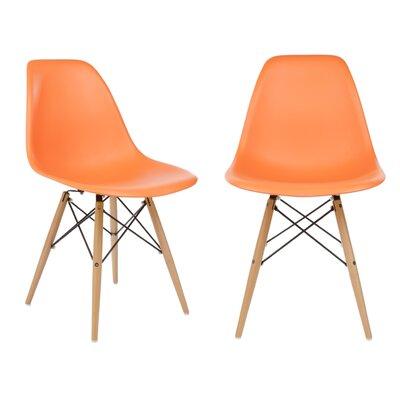 eModern Decor Slope Side Chair (Set of 2)