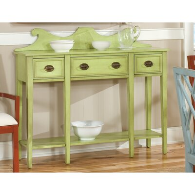HeatherBrooke Furniture Pistachio Pudding Consol..