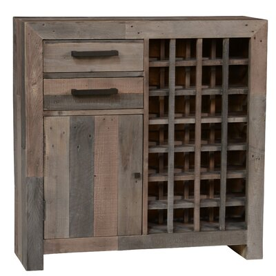 Kosas Home Norman 28 Bottle Floor Wine Cabinet
