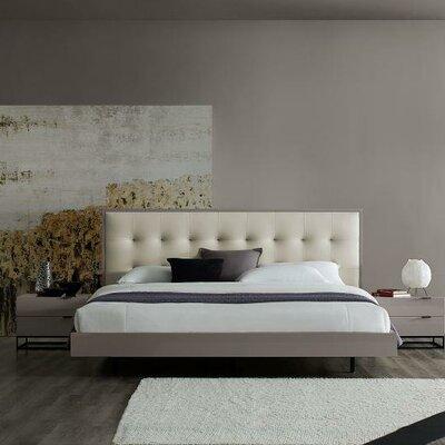 Wade Logan Aditya Upholstered Platform Bed