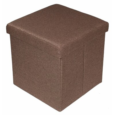 BirdRock Home Folding Storage Ottoman