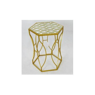 TLC Home Darcy Metal End Table