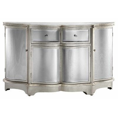 Stein World Curved Mirror Credenza