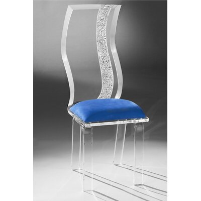 Muniz Wave Acrylic Side Chair