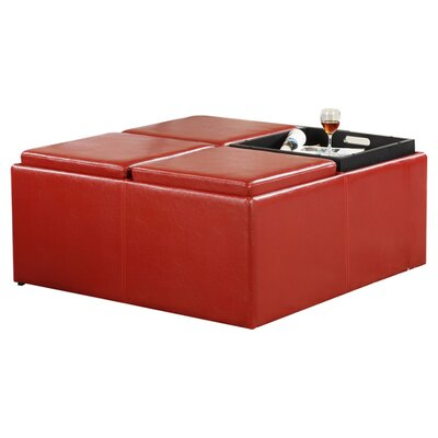 Mercury Row Timon Storage Cocktail Ottoman