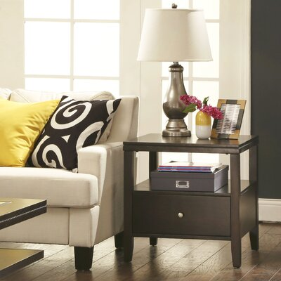 Three Posts Wendell End Table