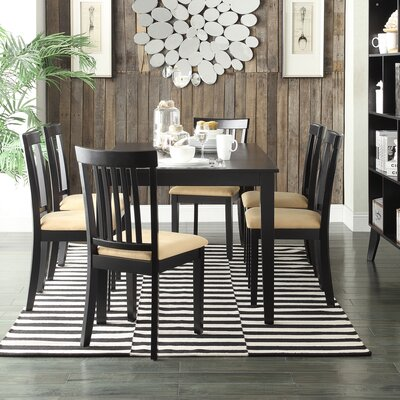 Kingstown Home Jeannette 7 Piece Dining Set