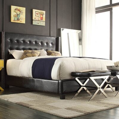 House of Hampton Julie Upholstered Panel Bed