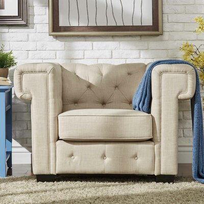 Darby Home Co Edgerton Chesterfield Chair