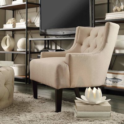 Kingstown Home Dawan Tufted Accent Arm Chair