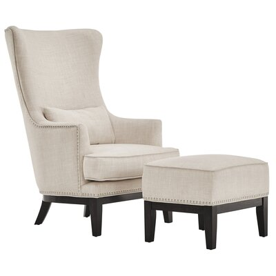 Kingstown Home Matteo Arm Chair and Ottoman