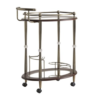 House of Hampton Polly Serving Cart