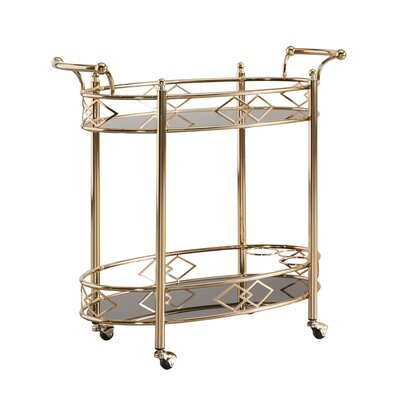 House of Hampton Tenenbaum Serving Cart