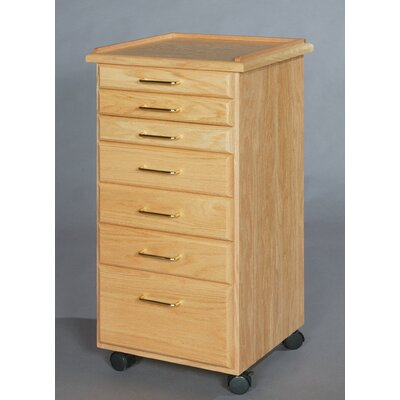 SMI Products Classic 7 Drawer Vertical File