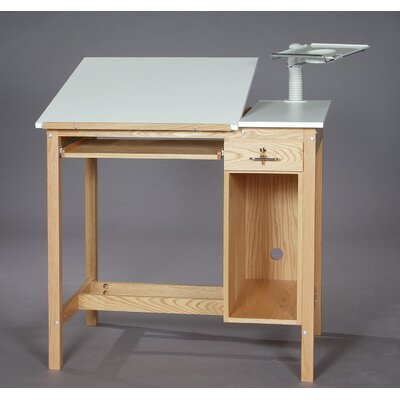 SMI Products ST Series Computer Desk with Drawer