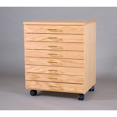 SMI Products Vanguard 8 Drawer Vertical File