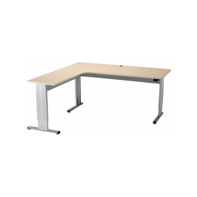 Populas Furniture Infinity Perfect Corner Standing Desk