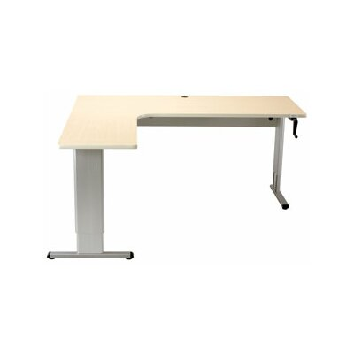 Populas Furniture Accella Perfect Corner Standing Desk Image