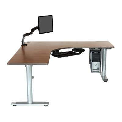 Populas Furniture Vox Perfect Corner Standing Desk