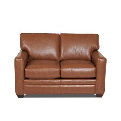 Wayfair Custom Upholstery Carleton Leather Loves..