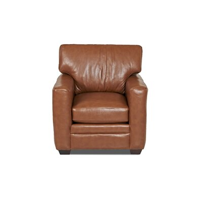 Wayfair Custom Upholstery Carleton Leather C..