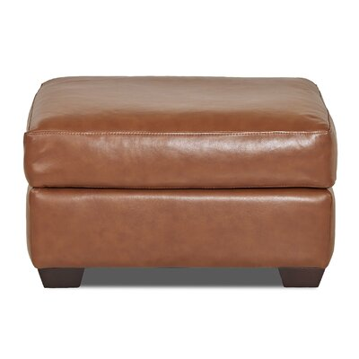 Wayfair Custom Upholstery Rachel Leather Ottoman