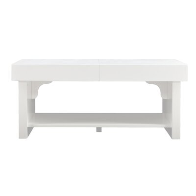 Holly & Martin Glidick Slide-Top Coffee Table