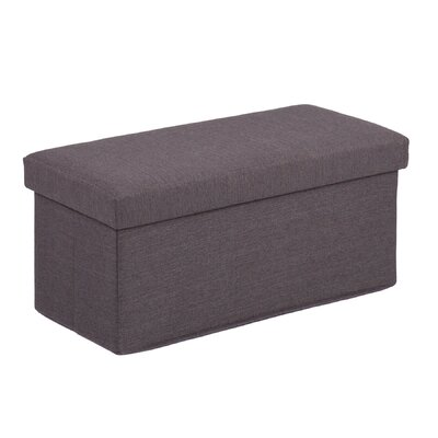 Holly & Martin Plushen Folding Storage Ottoman