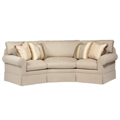 Classic Comfort Curved Back Conversation Sofa