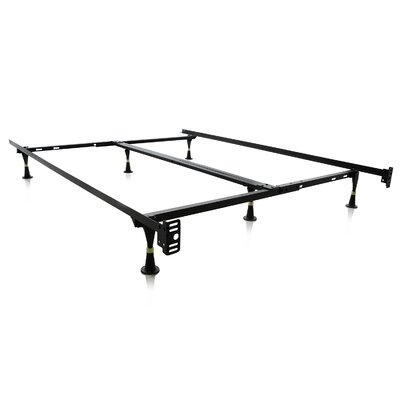 Malouf 6 Leg Adjustable Metal Bed Frame