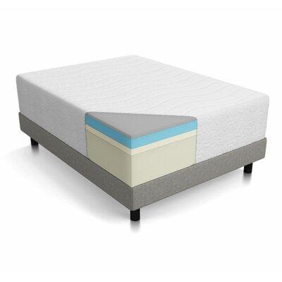 lucid 16 plush hybrid mattress reviews wayfair. Black Bedroom Furniture Sets. Home Design Ideas