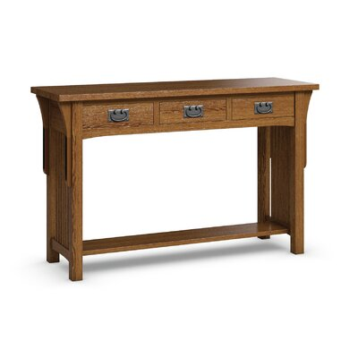 Caravel FLW Sofa Table With Three Drawers