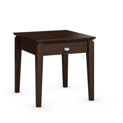 Caravel Windward End Table with Power Station