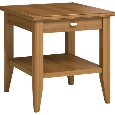 Caravel Bowery End Table with Drawer